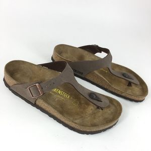 Birkenstock Giezh Brown Non-Leather Sandals